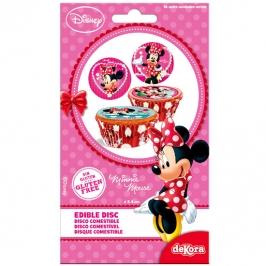 Juego de 16 Discos de Azúcar Minnie
