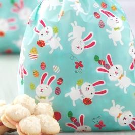 Juego de 20 Bolsas para Dulces Conejo de Pascua