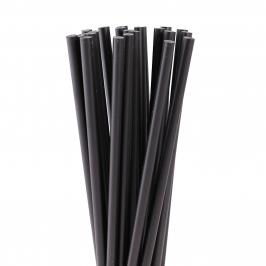 Juego de 20 Palitos para Piruletas Negros 15cm - My Karamelli