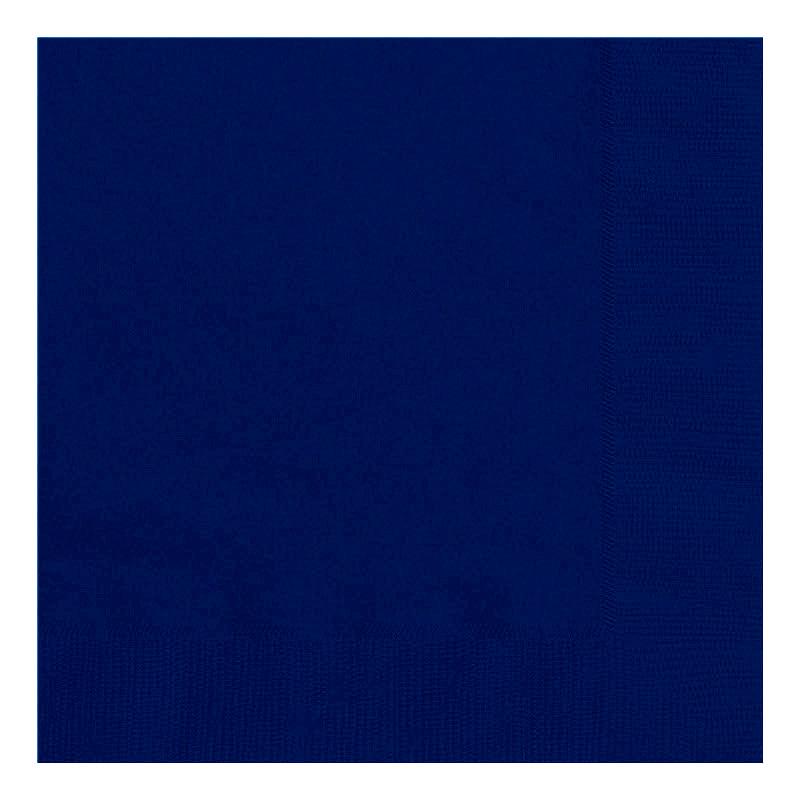 Juego de 20 Servilletas Azul Marino