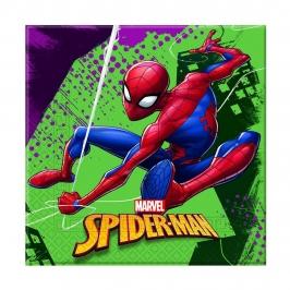 Juego de 20 servilletas con la imagen de Spiderman