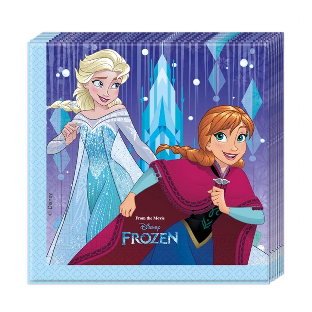 Juego de 20 servilletas de Frozen