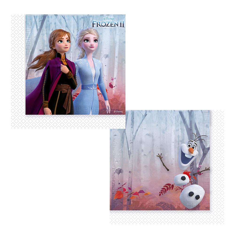 Juego de 20 Servilletas Frozen 2