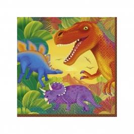 Juego de 20 Servilletas Jurassic World