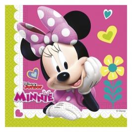 Juego de 20 Servilletas Minnie Happy