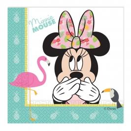 Juego de 20 servilletas Minnie mouse