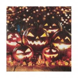 Juego de 20 Servilletas Skull&Pumpkin