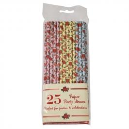 Juego de 25 Pajitas Rose Straws