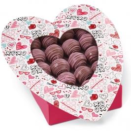 Juego de 3 cajas para dulces Amor