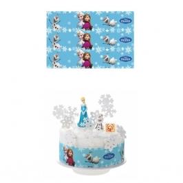 Juego de 3 impresiones Frozen 28x6,5 cm