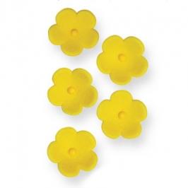 Juego de 30 flores amarillas de azúcar PME