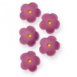 Juego de 30 flores lilas de azúcar PME