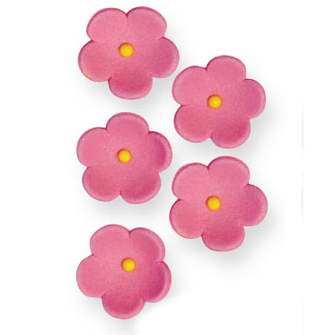 Juego de 30 flores rosas de azúcar PME