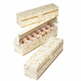 Juego de 4 cajas para dulces modelo Narrow