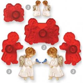 Set de 4 cortadores angelitos JEM
