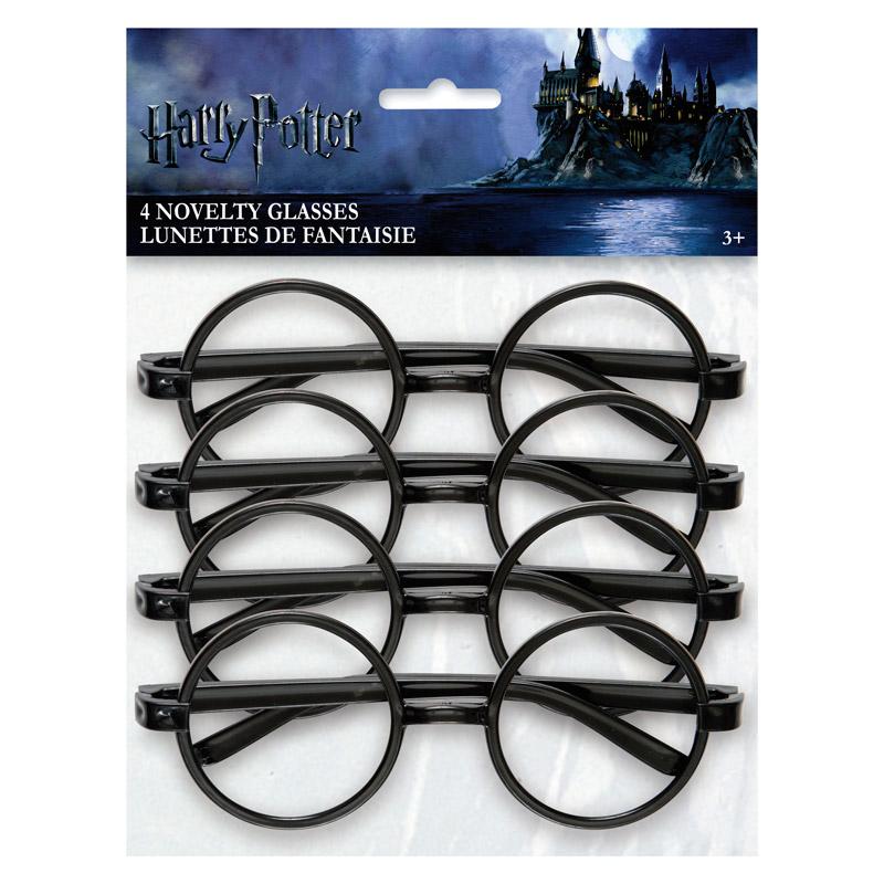 Juego de 4 Gafas Harry Potter