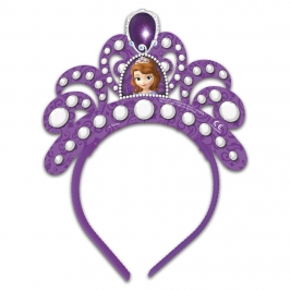 Juego de 4 tiaras lilas de la Princesa Sofía