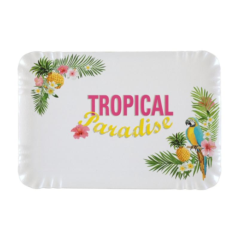 Juego de 5 Bandejas Paraíso Tropical