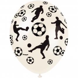 Juego de 5 Globos Futbolista