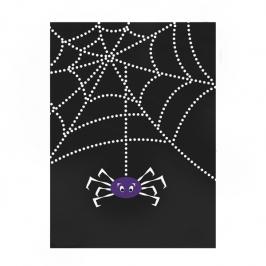 Juego de 50 bolsitas para chuches Tela de araña
