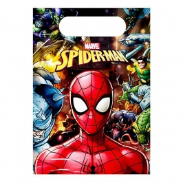 Juego de 6 Bolsas Chuches Spiderman Team Up