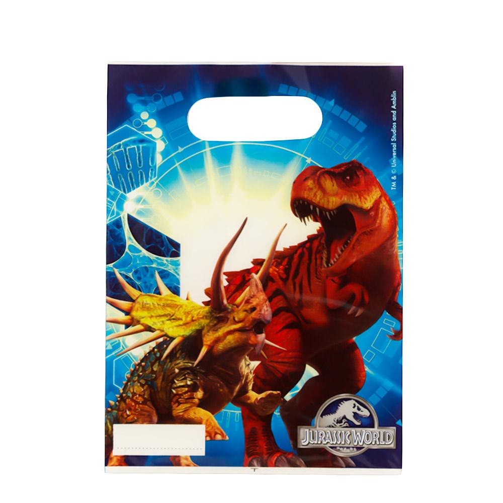 Juego de 6 Bolsas para chuches Jurassic World