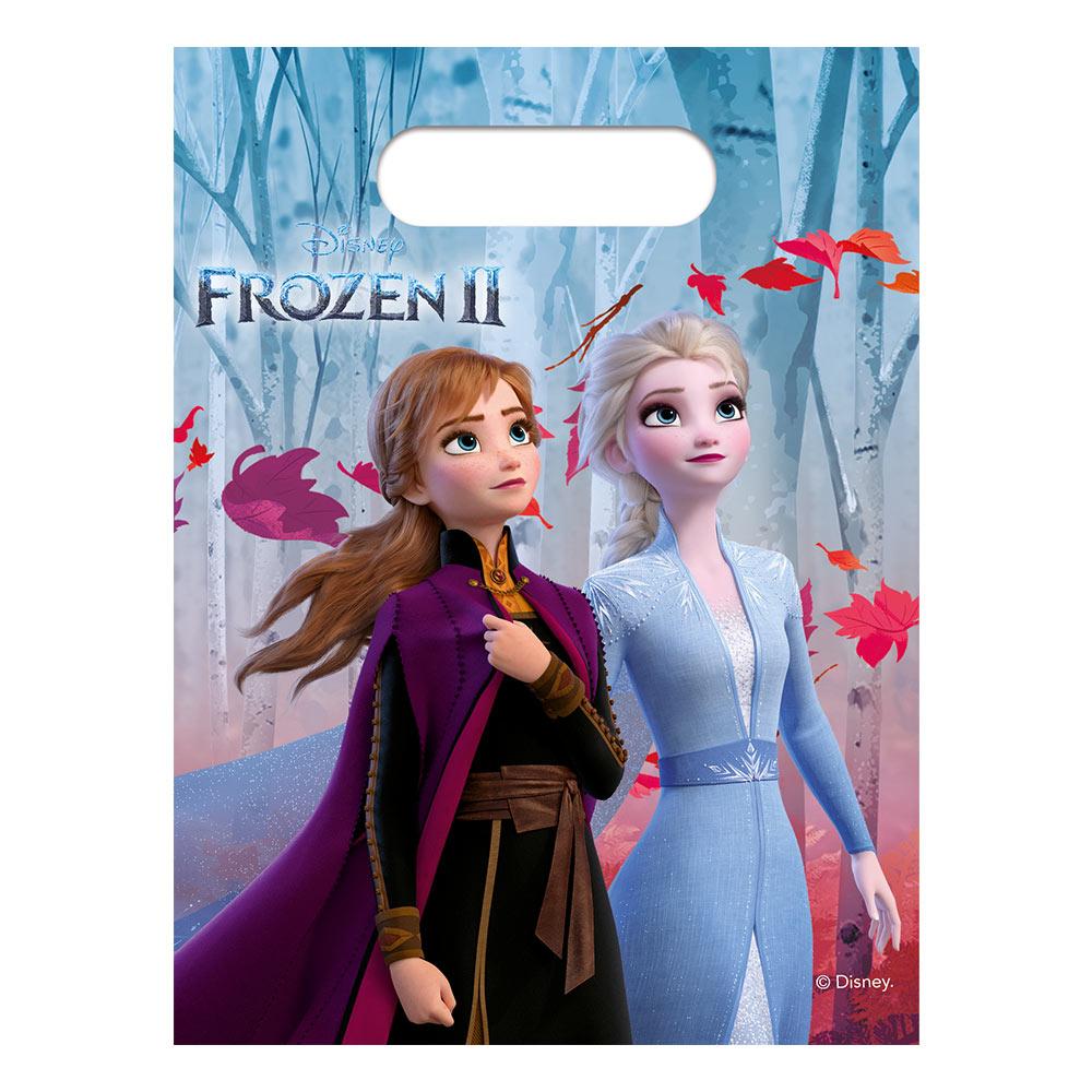 Juego de 6 Bolsas para Chuches Frozen 2