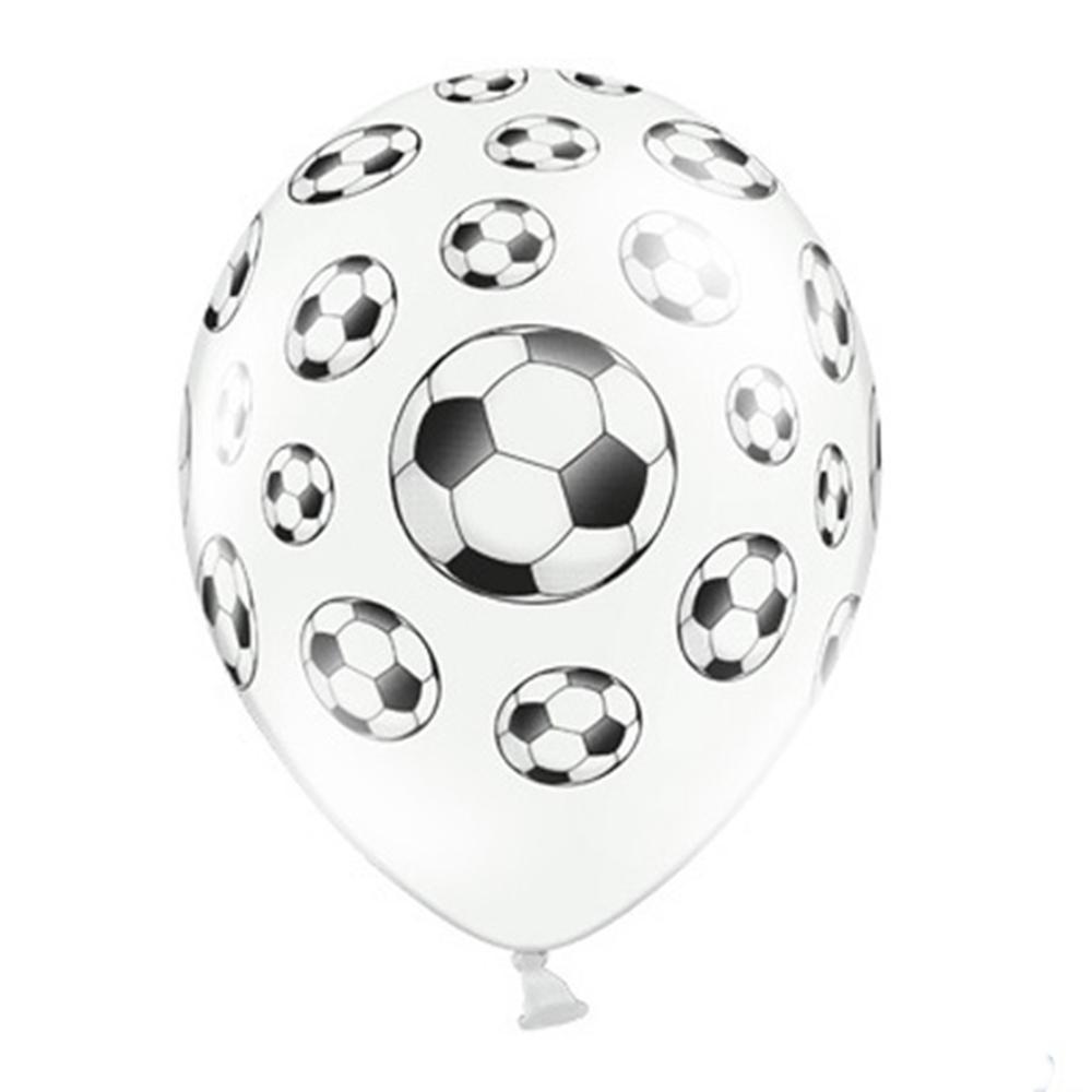 Juego de 6 Globos Fútbol