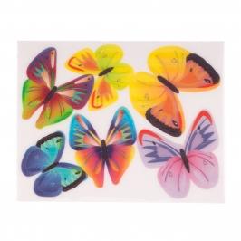 Juego de 6 Obleas Mariposas Modelo A - My Karamelli