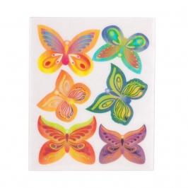 Juego de 6 Obleas Mariposas Modelo B - My Karamelli