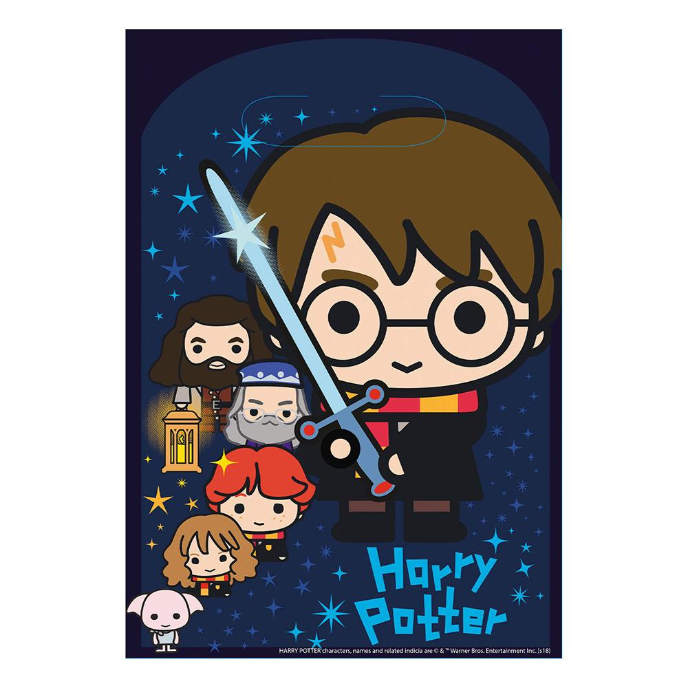 Juego de 8 Bolsas Chuches Personajes Harry Potter