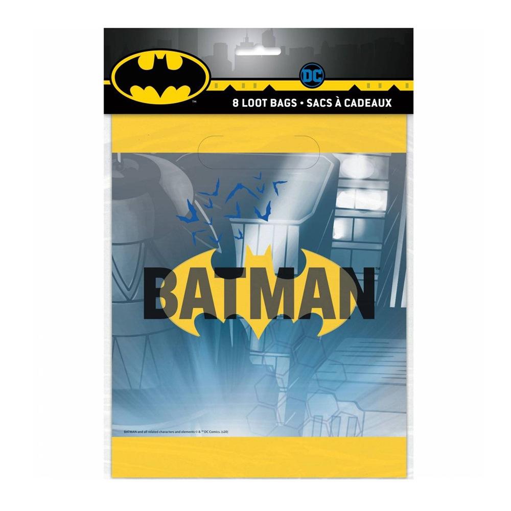 Juego de 8 bolsas para chuches Batman