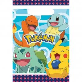 Juego de 8 Bolsas para Chuches Pokémon