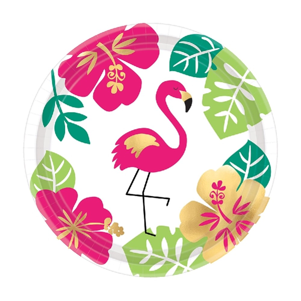 Juego de 8 Platos Aloha 18 cm