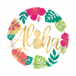 Juego de 8 Platos Aloha 26 cm