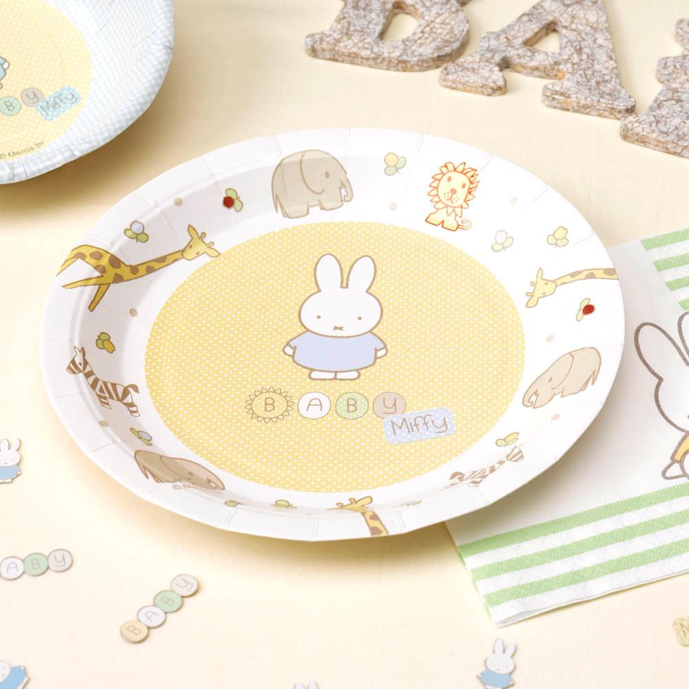 ▷ Set de 8 Platos Baby Miffy Modelo B 22cm - Envíos 24 hr ✅ a863d9b2531
