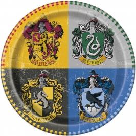 Juego de 8 Platos Harry Potter 22 cm