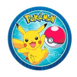 Juego de 8 Platos Pokémon 18 cm