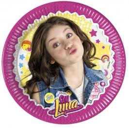 Juego de 8 platos Soy Luna