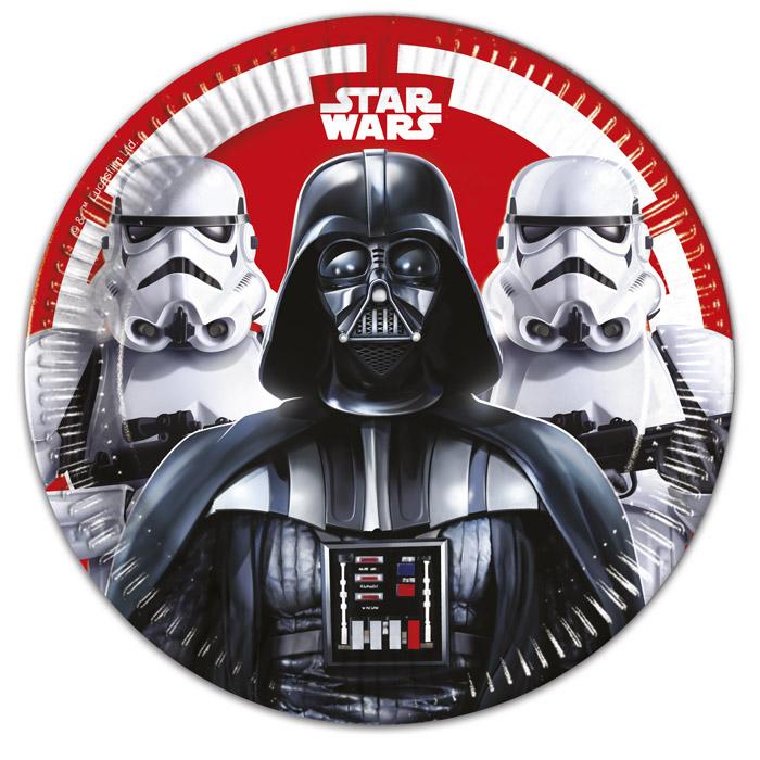 Juego de 8 platos Star Wars 23cm