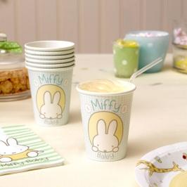 Juego de 8 Vasos Baby Miffy Modelo B