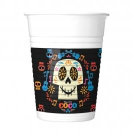 Juego de 8 Vasos Coco
