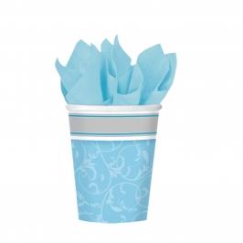 Juego de 8 vasos Comunión Azul - My Karamelli