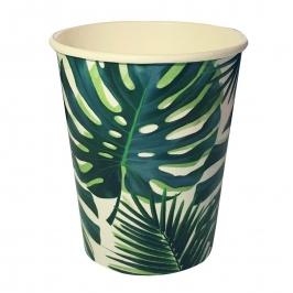 Juego de 8 Vasos Fiesta Tropical
