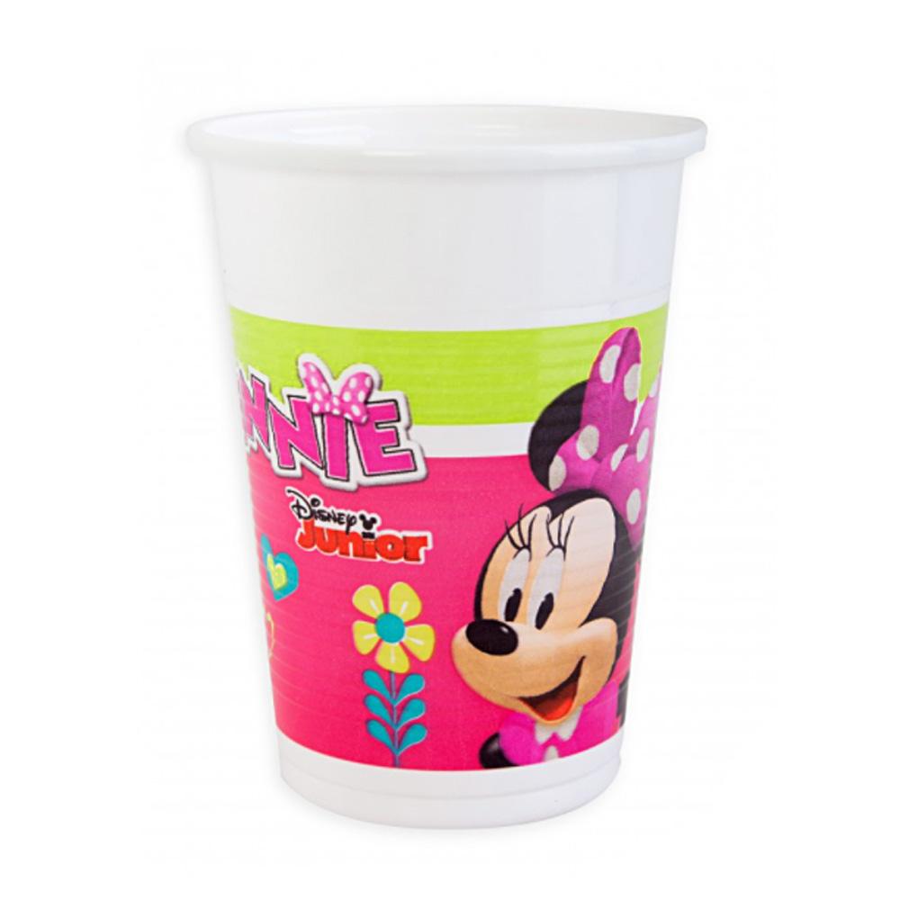 Juego de 8 Vasos Minnie Happy