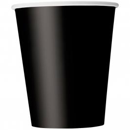 Juego de 8 Vasos Negros