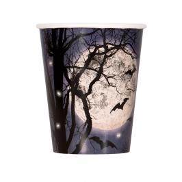 Juego de 8 Vasos Noche de Halloween