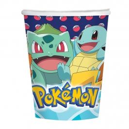 Juego de 8 Vasos Pokémon