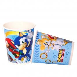 Juego de 8 Vasos Sonic The Hedgehog