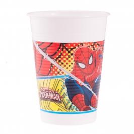 Juego de 8 Vasos Spiderman - My Karamelli